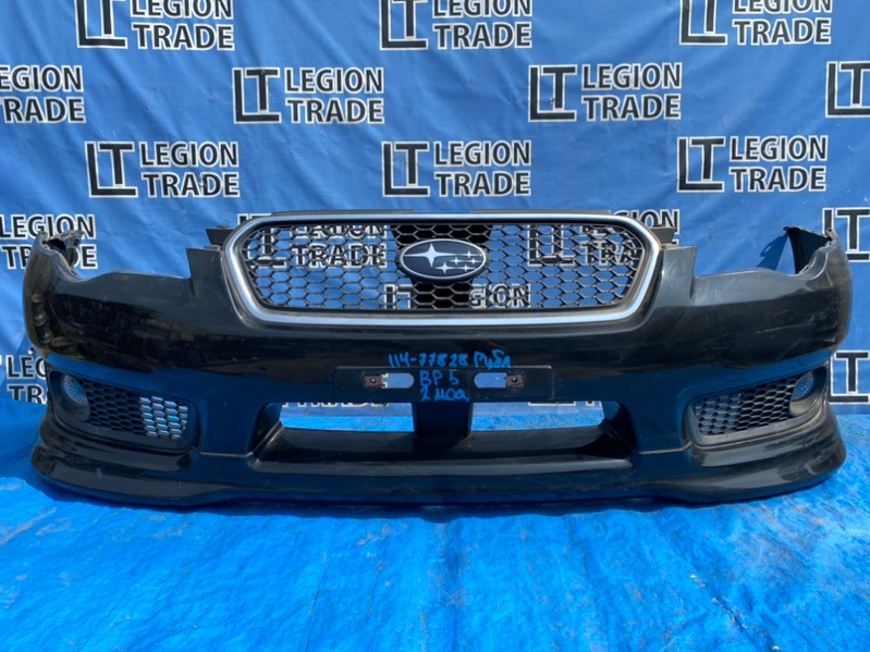 Бампер Subaru Legacy BP5 EJ203 передний
