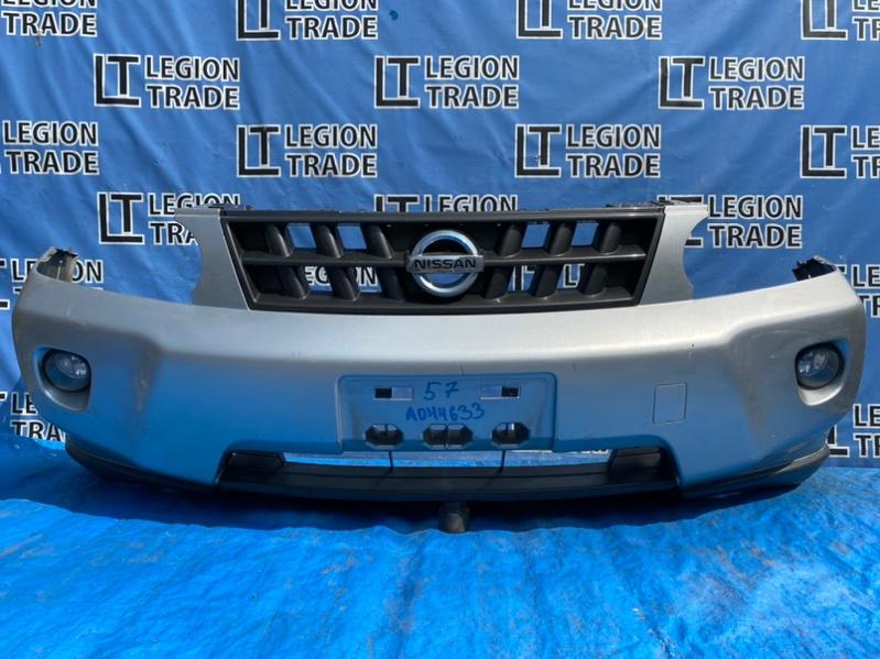 Бампер Nissan X-Trail T31 QR25DE 08.2007 передний