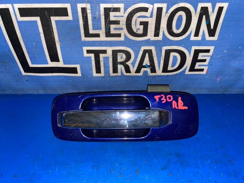 Ручка двери внешняя Nissan X-Trail NT30 задняя левая