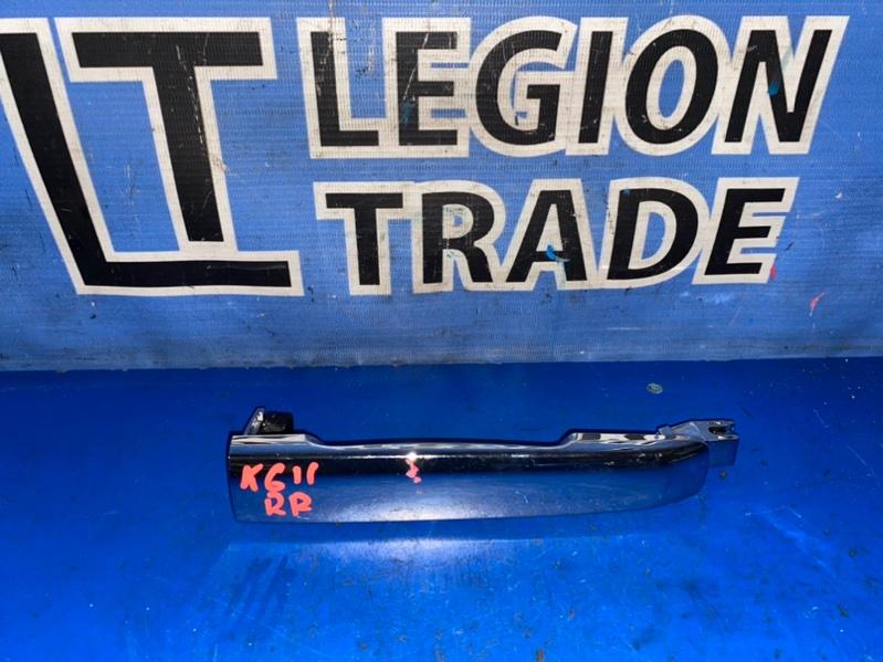 Ручка двери внешняя Nissan Bluebird Sylphy KG11 MR20DE задняя правая