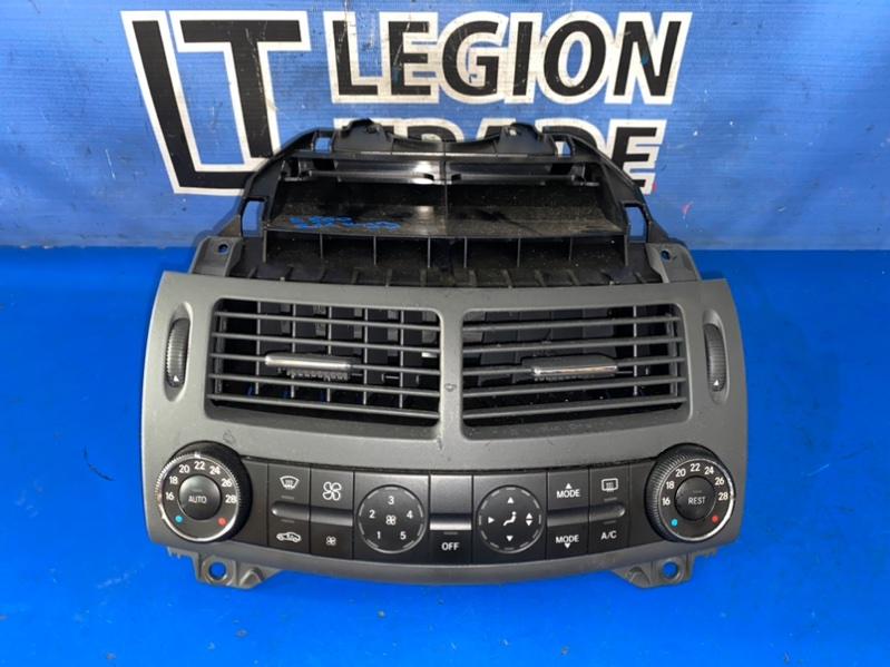 Блок управления климат-контролем Mercedes-Benz E280 W211 M272 23.06.2005