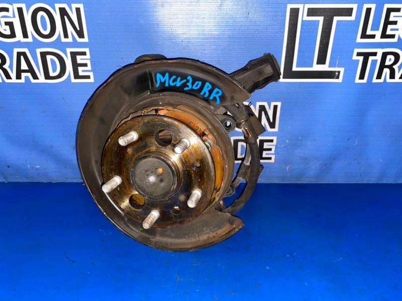 Ступица Toyota Windom MCV30 1MZFE 02.2006 задняя правая