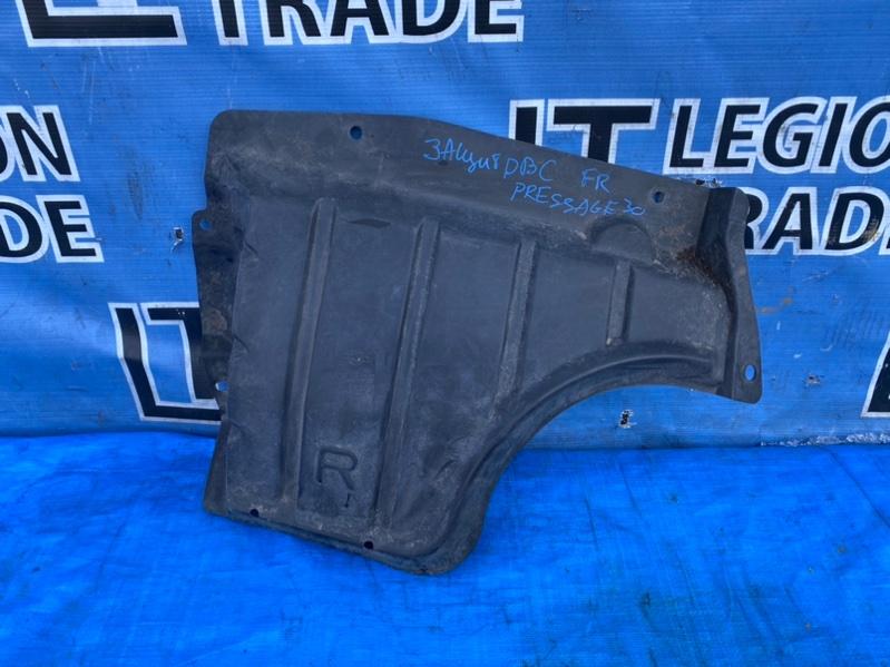 Защита двигателя Nissan Presage U30 передняя правая