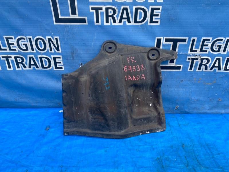 Защита двигателя Nissan Teana J32 правая