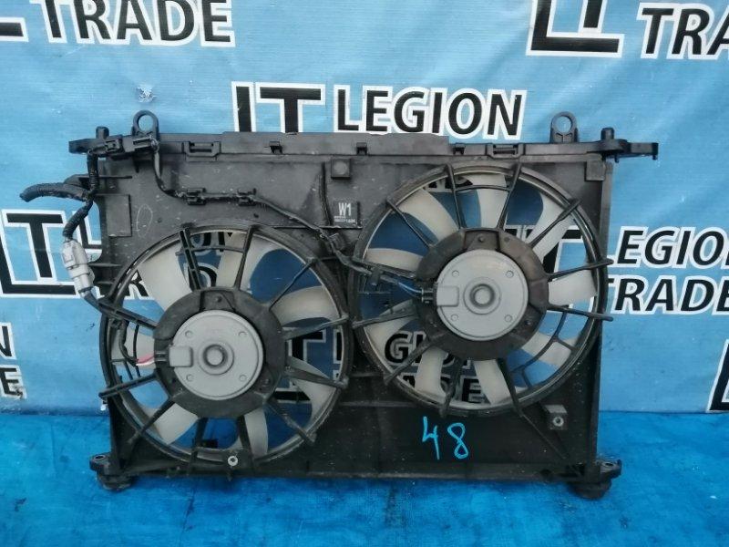 Диффузор радиатора Toyota Wish ZGE20 2ZRFAE 05.2009