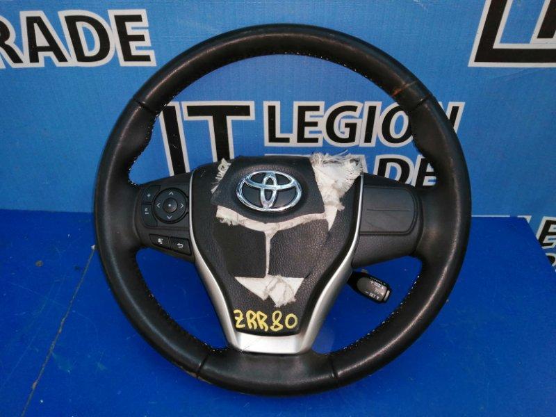 Руль Toyota Voxy ZRR80 3ZRFAE