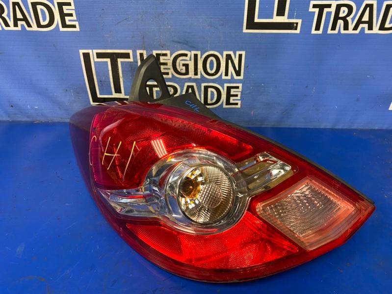 Стоп-сигнал Nissan Tiida C11 задний левый