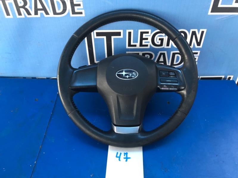 Руль Subaru Legacy BM9 EJ255JBDME 11.2012