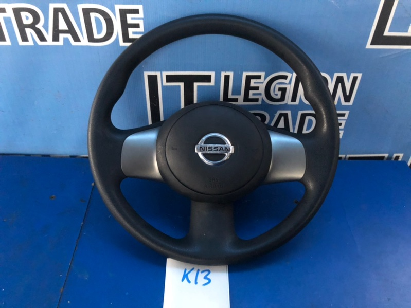 Руль Nissan March K13 HR12DE