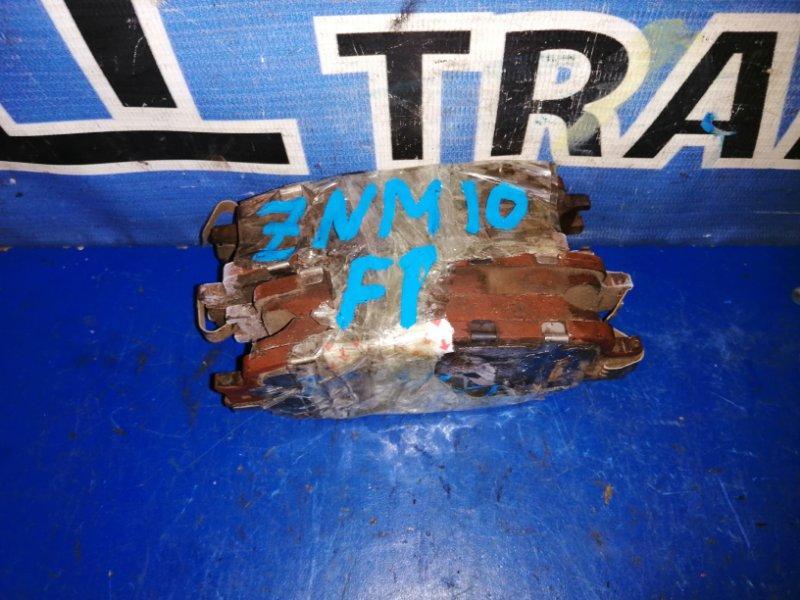 Тормозные колодки Toyota Isis ZNM10 1ZZFE переднее