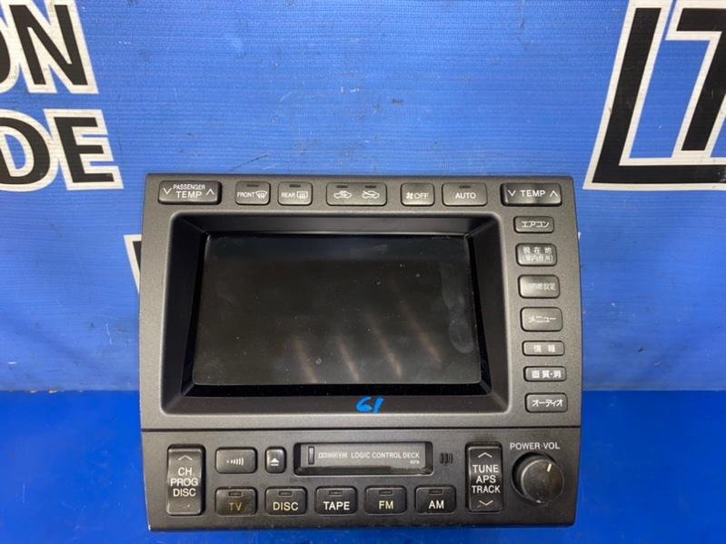 Блок управления климат-контролем Toyota Aristo JZS160 2JZGE 11.2000
