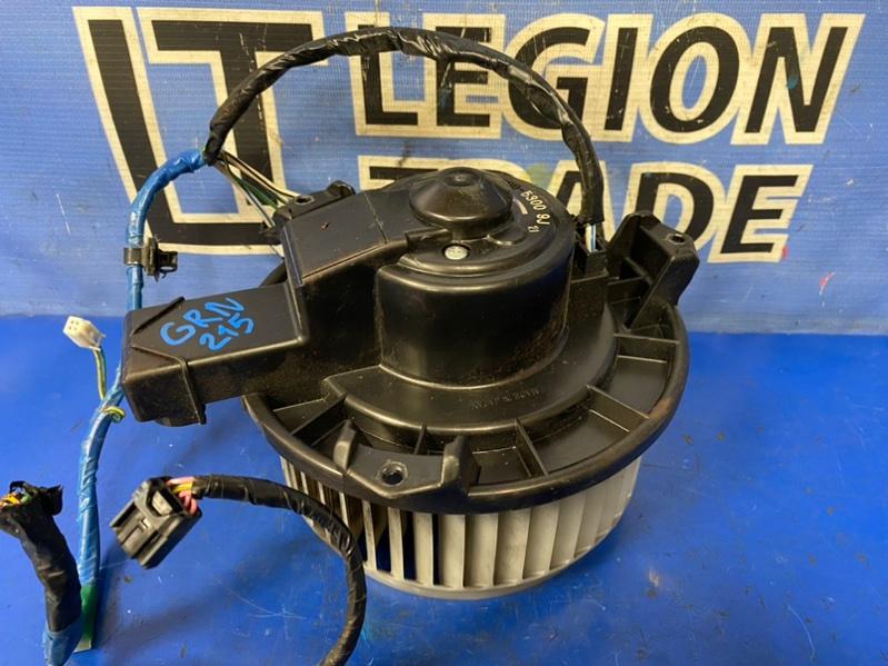 Мотор печки Toyota Hilux Surf GRN215 1GRFE 10.2007