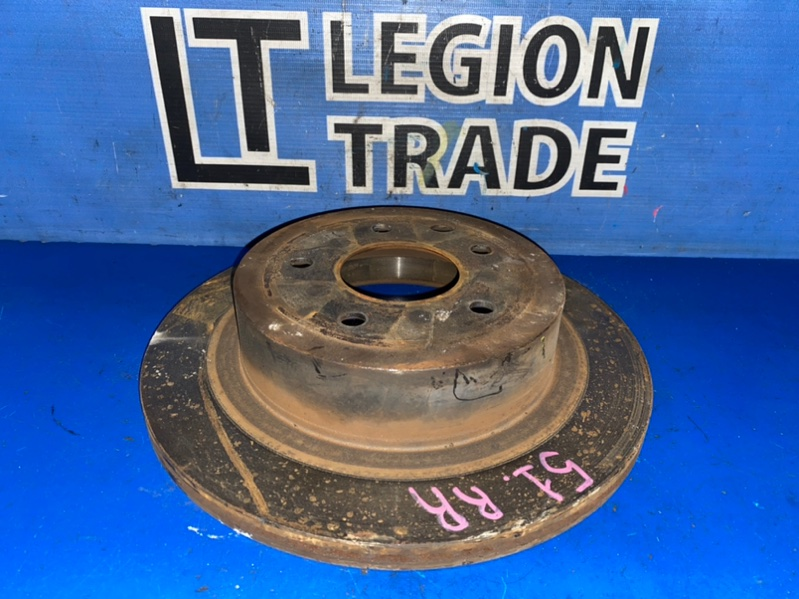 Тормозной диск Nissan X-Trail TNT31 QR25DE 08.2007 задний правый