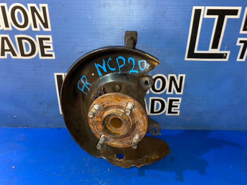 Ступица Toyota Funcargo NCP20 2NZFE передняя правая