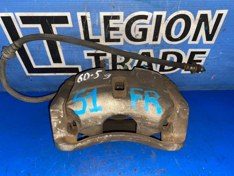 Тормозной суппорт Nissan X-Trail TNT31 QR25DE 08.2007 передний правый