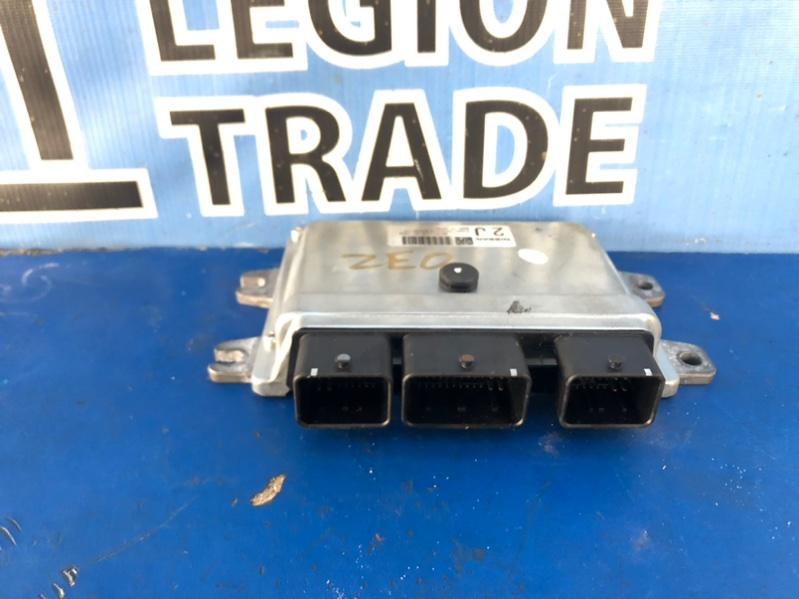 Блок управления efi Nissan Leaf ZE0 EM61 07.2011