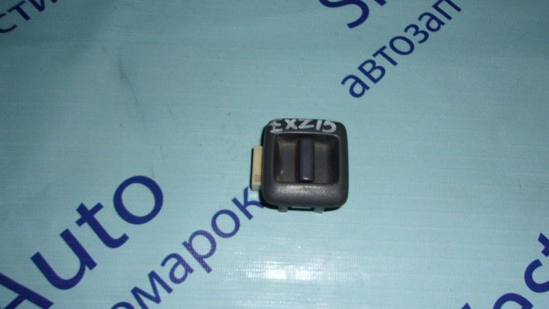 Кнопка стеклоподъемника Toyota Raum EXZ15 задняя