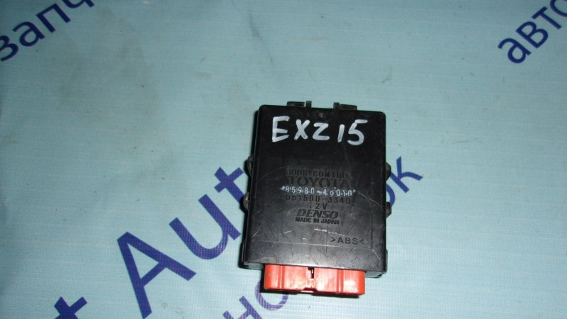 Электронный блок Toyota Raum EXZ15