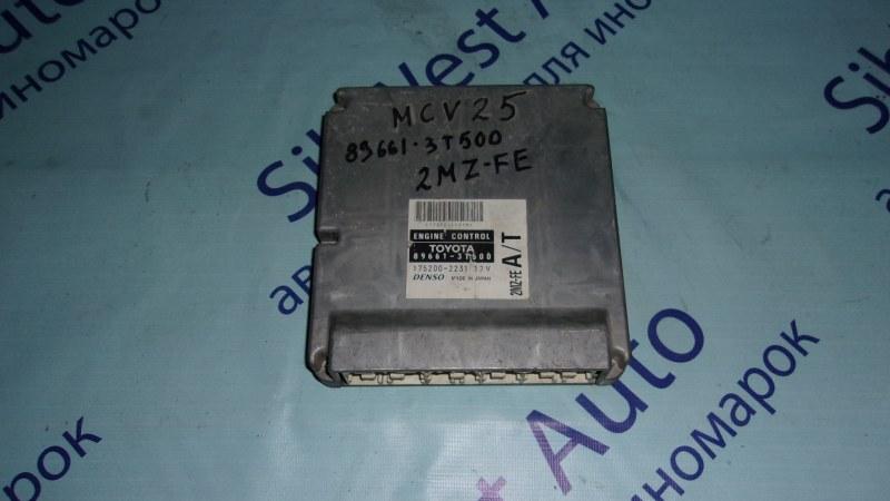 Блок управления efi Toyota Mark Ii Qualis MCV25 2MZFE