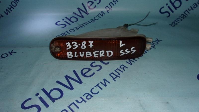 Повторитель бамперный Nissan Bluebird EU14 передний левый