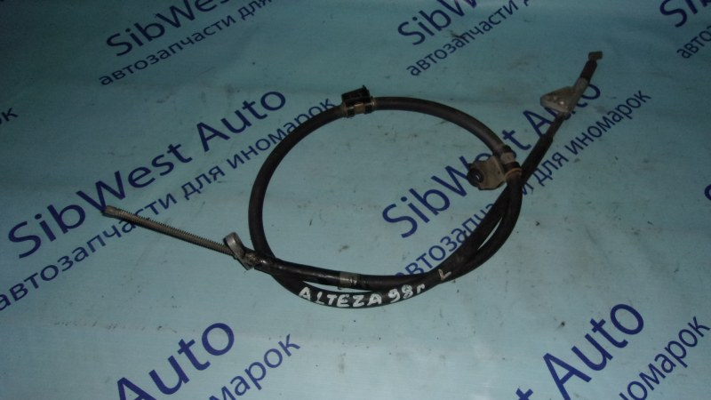 Тросик ручника Toyota Altezza GXE10 задний левый