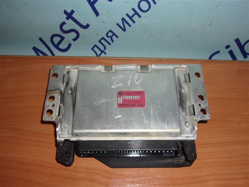 Блок управления abs Nissan Cube Z10 CG13