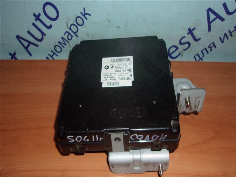 Блок управления замками Hyundai Solaris RB G4FA 2011