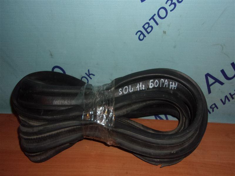 Уплотнительная резинка багажника Hyundai Solaris RB G4FA 2011