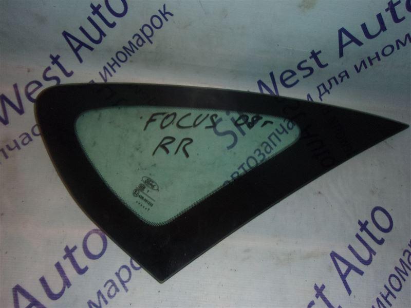 Форточка кузова Ford Focus 2 CB4 (MK2) QQDB 07.2007 задняя правая