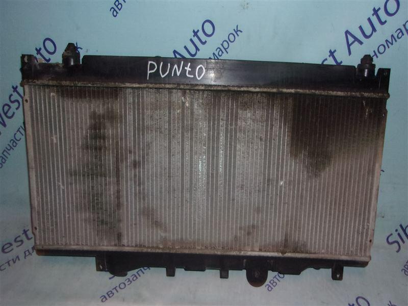 Радиатор основной Fiat Punto 176 176A9.000 (1.6Л) 1993-1997