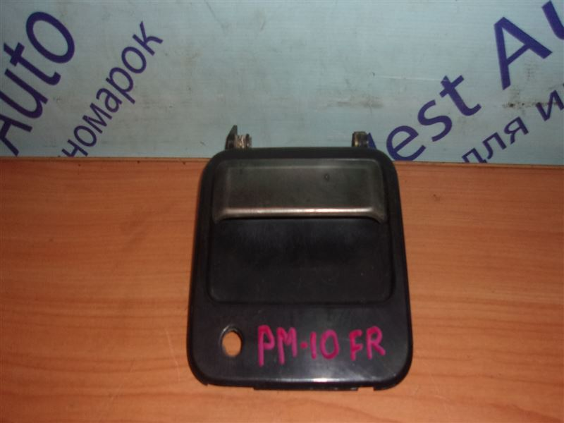 Ручка двери внешняя Nissan Prairie PM10 CA18S 1988 передняя правая