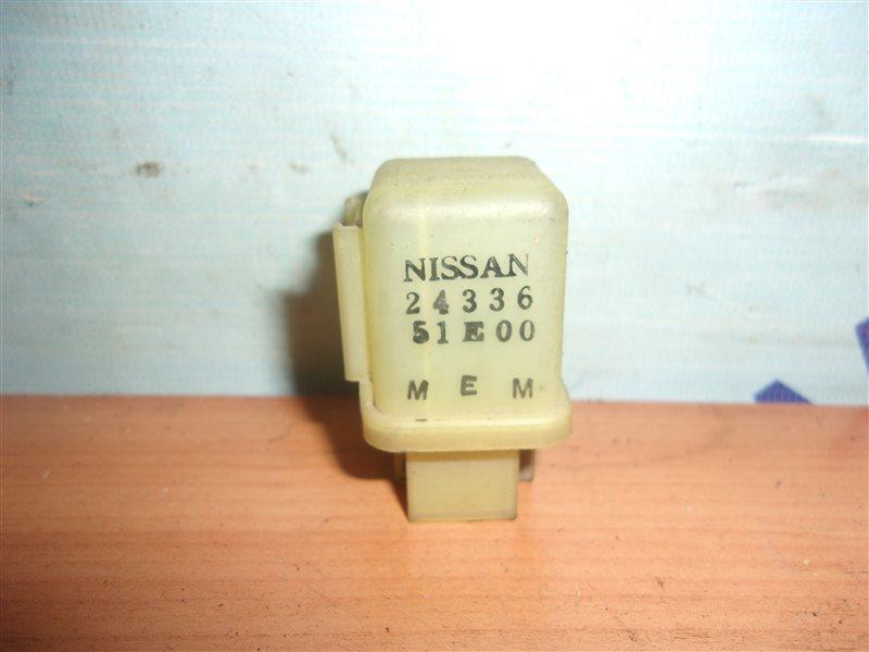 Реле Nissan Skyline FR32 CA18I с 05.1989 по 11.1994