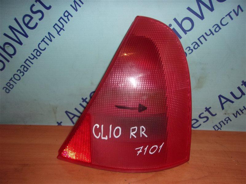Стоп-сигнал Renault Clio Ii BB0A D7F720 1998 задний правый