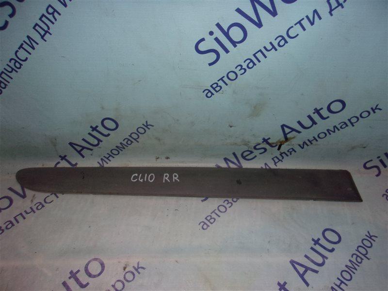 Молдинг на дверь Renault Clio Ii BB0A D7F720 1998 задний правый