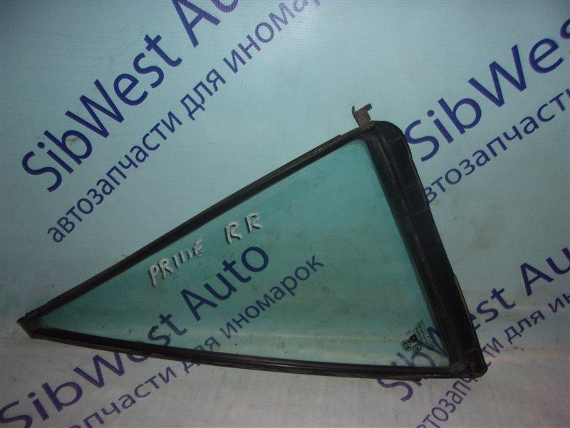 Форточка двери Kia Pride K12T B3 01.06.1999 задняя правая