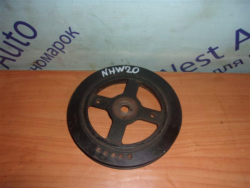 Шкив коленвала Toyota Prius NHW20 1NZ-FXE