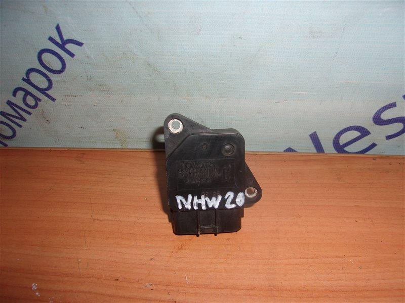 Расходомер воздушный Toyota Prius NHW20 1NZ-FXE