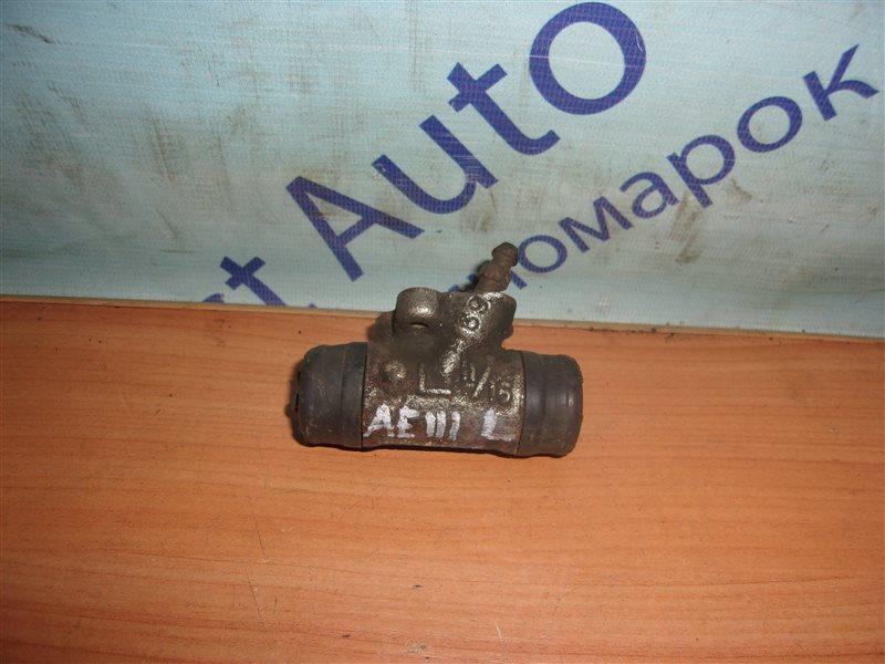 Тормозной цилиндр Toyota Spacio AE111 задний левый