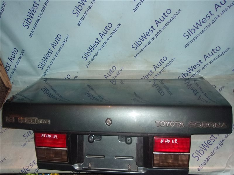 Крышка багажника Toyota Corona AT170 5A-F 1989