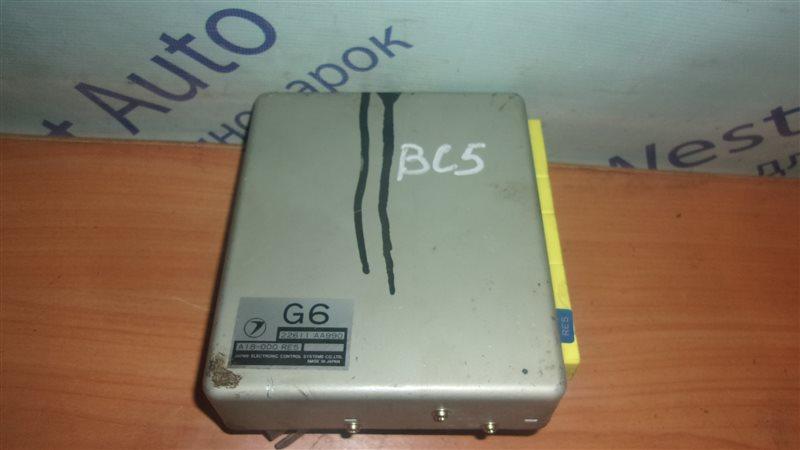 Блок управления efi Subaru Legacy BC5 EJ20 1992
