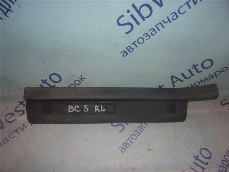 Порожек пластиковый Subaru Legacy BC5 EJ20 1992 задний левый