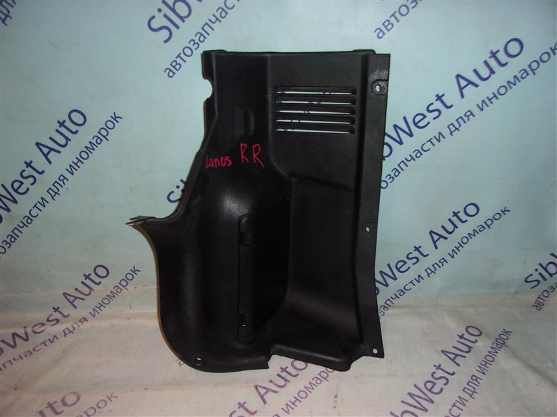 Обшивка багажника Chevrolet Lanos T100 A15SMS 2007 задняя правая