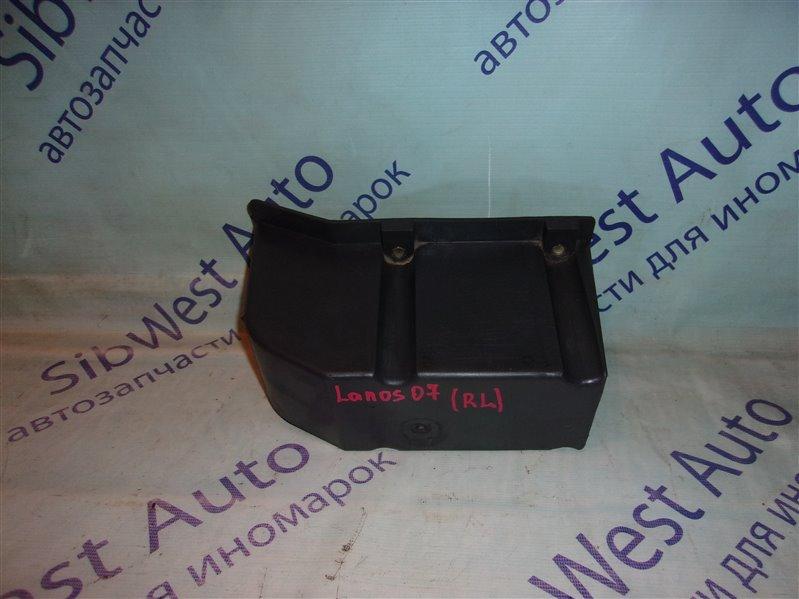 Жесткость бампера Chevrolet Lanos T100 A15SMS 2007 задний левый
