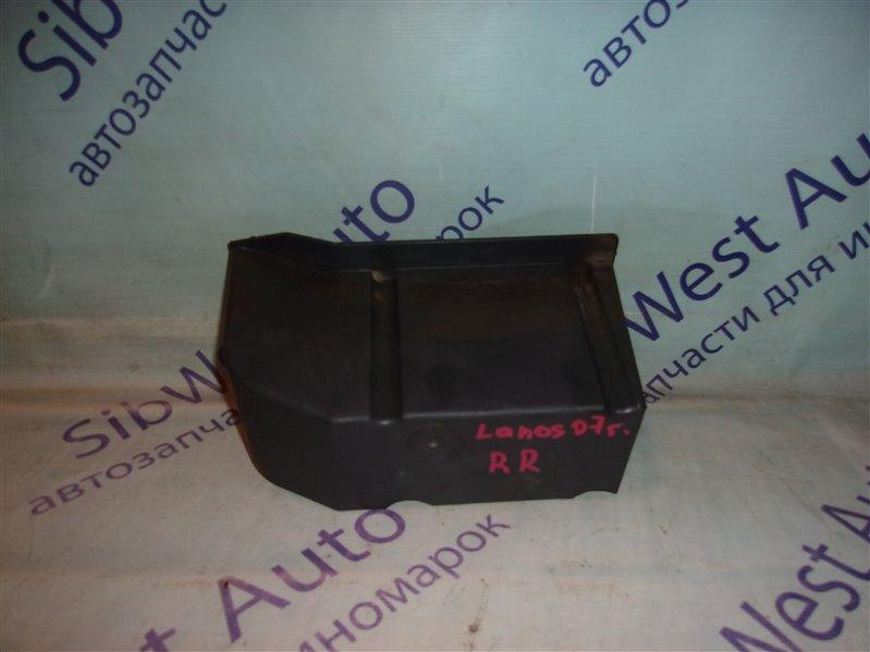 Жесткость бампера Chevrolet Lanos T100 A15SMS 2007 задний правый