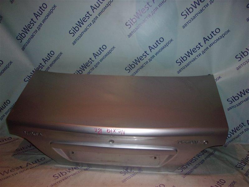 Крышка багажника Daewoo Nexia 2 KLETN A15SMS 2012