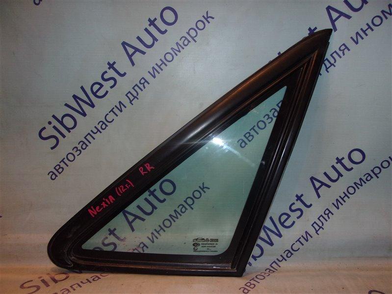 Форточка кузова Daewoo Nexia 2 KLETN A15SMS 2012 задняя правая