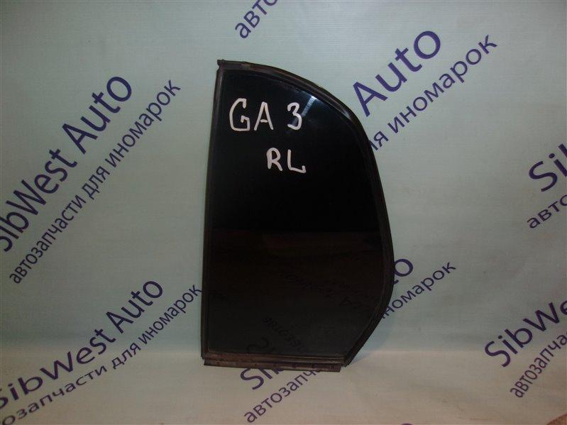 Форточка двери Honda Logo GA3 задняя левая