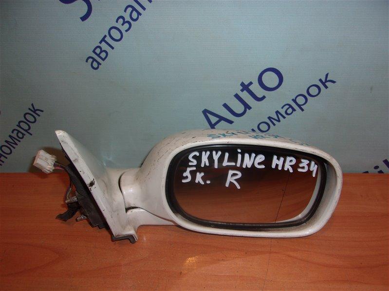 Зеркало Nissan Skyline HR34 правое