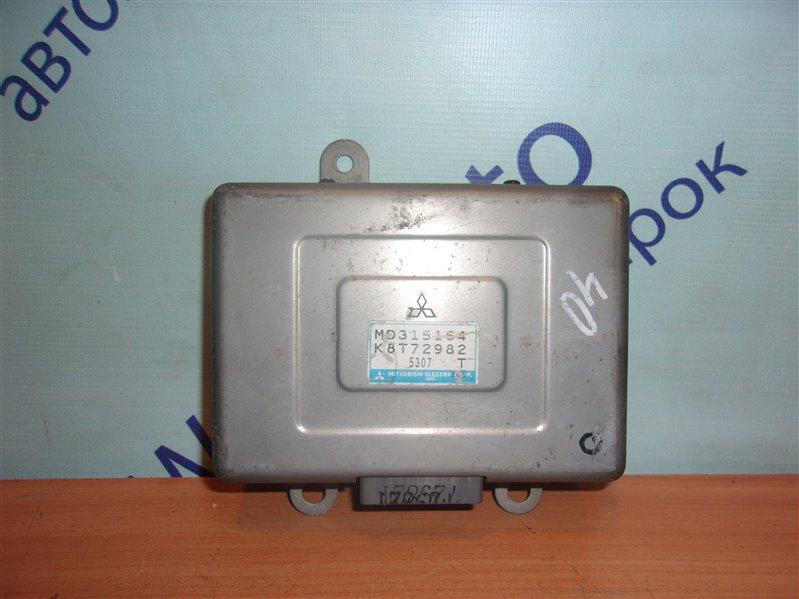 Блок управления efi Mitsubishi Rvr N28W 4D68