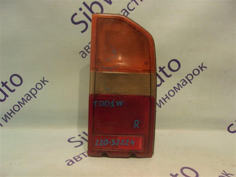 Стоп-сигнал Suzuki Escudo TD01W задний правый